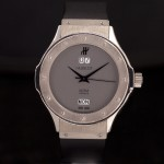 Hublot Grand Quantième Limited Edition 18 krt witgoud