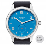 Nomos Club Automatic Date Siren Blue 777