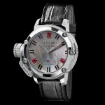 U-Boat CHIMERA 40 SS RUBY MOTHER OF PEARL 8017