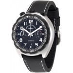 Zeno-watch Basel Bullhead Pilot Chrono 6528-THD-a1